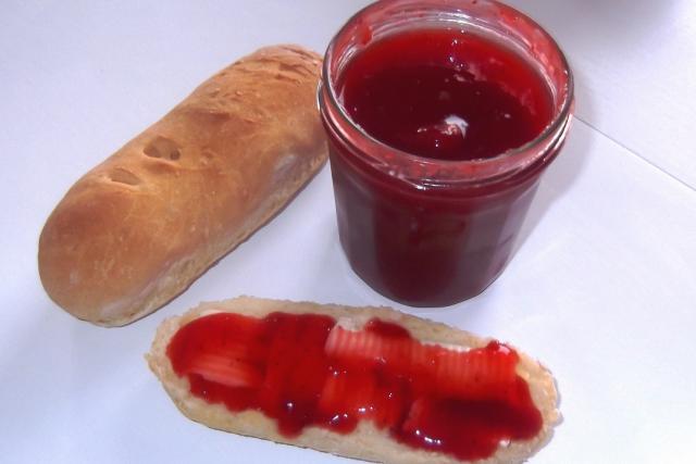 confiture de fraise sucre roux
