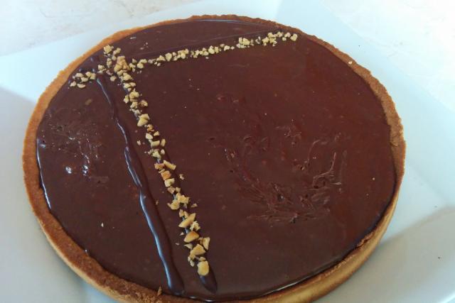 Tarte Au Chocolat Caramel Et Cacahuete De Pierre Herme Mes